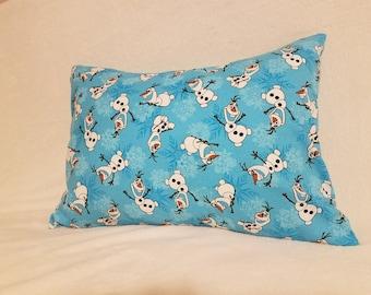 Olaf Envelope Backed Crib Pillow