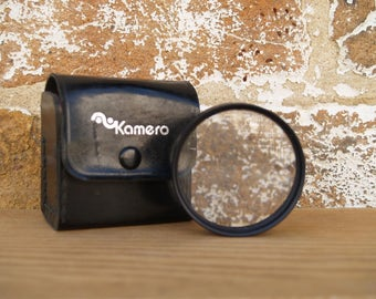 Kamero Closeup Lens, 55mm, with Original Case