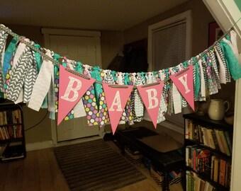 Baby rag banner