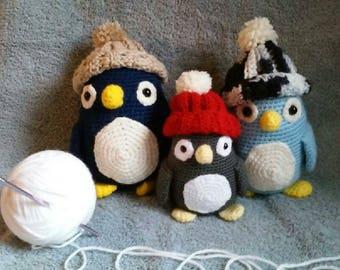 Amigurami Penguins