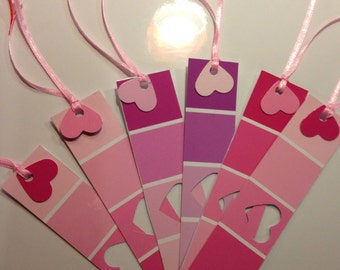 Valentine's Day Bookmarks (class-set of 25)