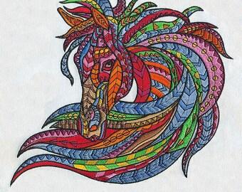 Multicolored Award Winning Horse Head