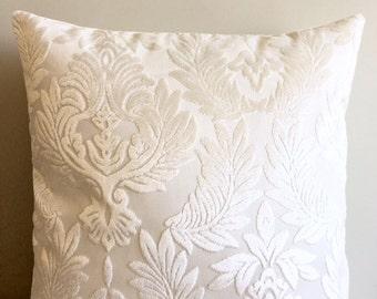 Cream Velvet Pillow Cover Cream Pillow Velvet Pillow Pillow Designer Throw Pillow Velvet Cushion Cream Velvet Pillows  Sofa Pillow Covers
