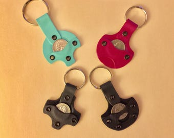 Aldi or Lidl Quarter keeper Keychain