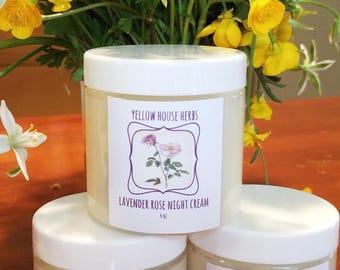 Lavender Rose Night Cream