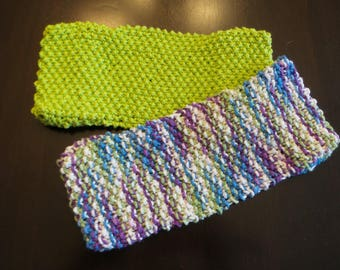 Handmade Knit Reusable Swiffer Covers