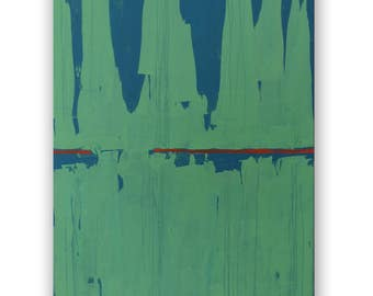 Abstract painting, Abstract art, Acrylic painting, Original painting, Paintings on canvas, Canvas painting Abstract painting original, Green