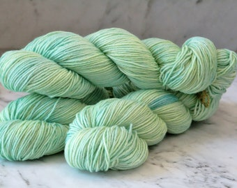 Shamrock Envy Handpainted Merino Wool 6ply Yarn DK
