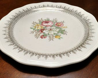The French Saxon China Plate