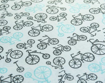 Bicycles for Michael Miller Fabrics by the half meter