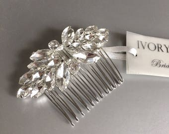 Bridal Hair Comb, Wedding Hair Piece, Crystal Hair Comb, Bridal Rhinestone Hair Comb, Bridal Hair Accessories