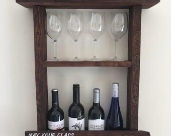 Pallet Wine Rack, Wine Rack