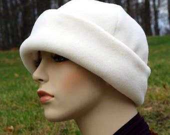 PDF pattern, polar fleece cap , hat