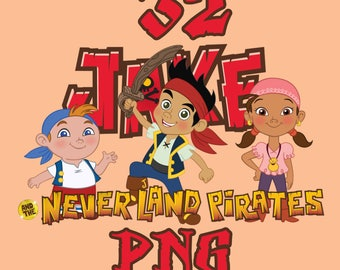 50% off 32 x Jake and the neverland pirates png clip art