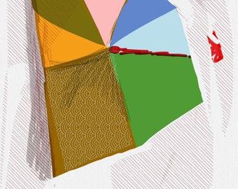 Art Book contemporary geometric digital prints #14