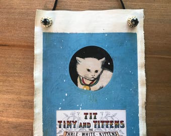 Vintage Book Covers - Tittens