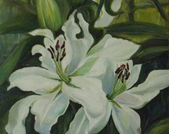 "the painting ""Lily"""