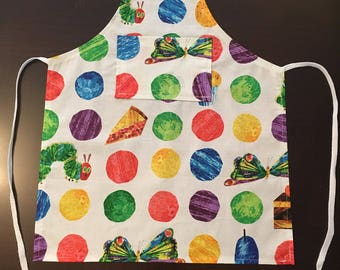Eric Carle's The Very Hungry Caterpillar children's apron