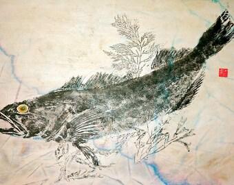 gyotaku, fish prints, oriental art