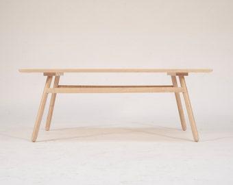 Modern Maple Coffee Table, Mid century modern coffee table, coffee table, danish modern,