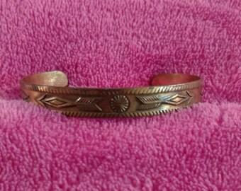Vintage Copper Bell bracelet