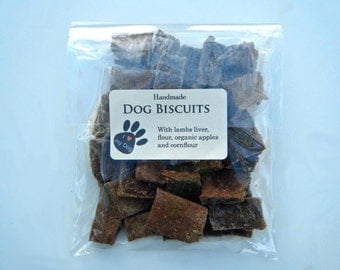 Handmade Dog Treats - Lambs Liver Dog Biscuits