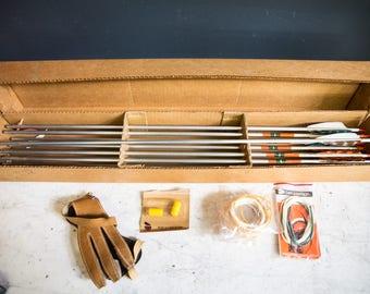 Vintage Archery Set