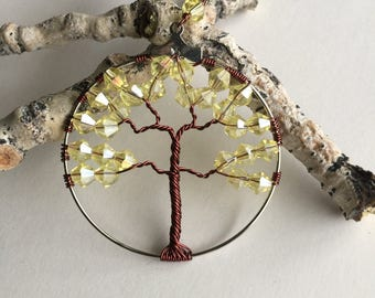 Tree Pendant Necklace