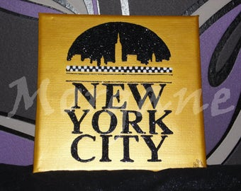 "Canvas ""New York city"""