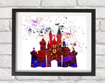 Magic Castle Glicee Fine Art Print
