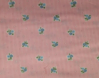 RJR Fabrics Lazy Daisy Baskets ADZ 12077 10 pink-- 1/2 yard increments