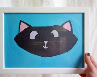 Kittycat drawing