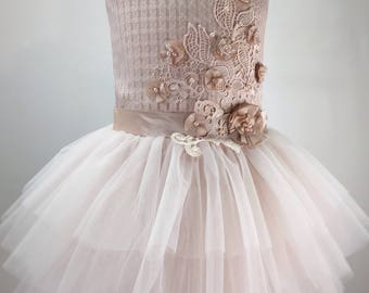 Tulle girl dress