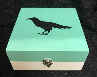 Raven Jewelry Box