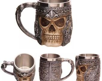 3D Skull Bone Mug
