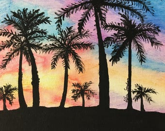 A Sunset in Paradise