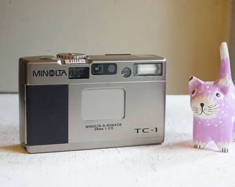 Minolta TC-1 Point & Shoot camera