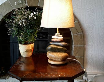 Yorkshire Beach Pebble Table Lamp