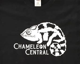 Chameleon Central USA  Panther Logo T-shirt
