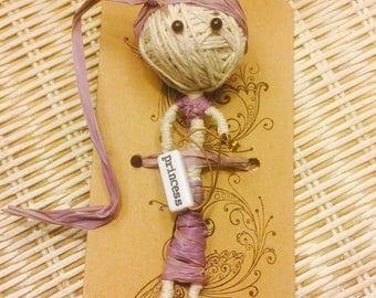 Guitar String Diva Voodoo Inspired String Doll