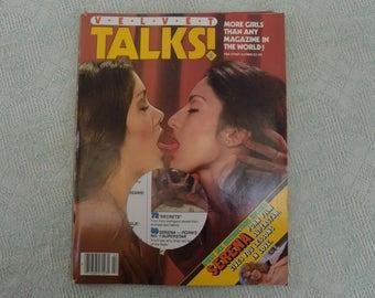 Velvet Talks Magazine #2 1980 Serena