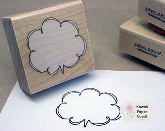 Kodomo no Kao Artsy Speech Bubble  Stamp Block