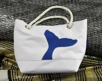 Whale Sail Handbag from Harbor Bags