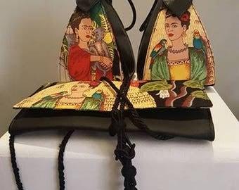 Frida Kahlo small clutch- bag