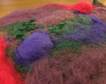 small felted piece #6