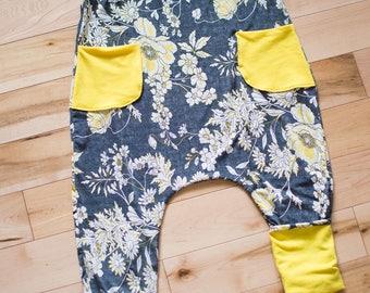 Long jumpsuit - romper for girl
