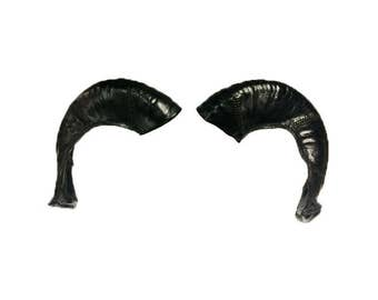 Leather Goat Horns