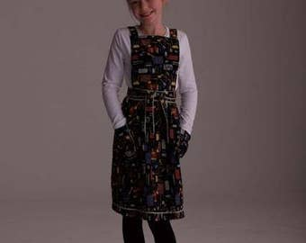 Crazy BBQ Apron & Pinafore by Lorna Murray