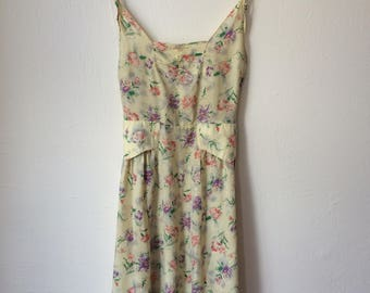 Vintage flower sundress