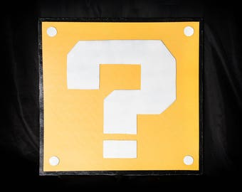 Question Mark Box (1 side)